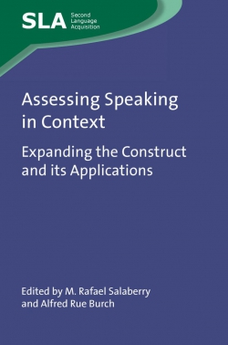 Jacket image for Assessing Speaking in Context